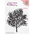 Clearstamps - Silhouette - Tree