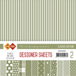 Paper pack - 15x15cm - Classic Edition - Green