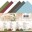 Cardstock - 13,5x27 cm - The Nature of Christmas - 24 ark
