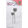 Clearstamps - Silhouette - Flower 9