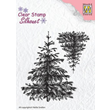 Clearstamps - Silhouette - Christmas Fir-Tree
