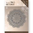 Jeanines Art Dies - Classic Butterflies and Flowers - Doily