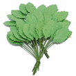 Blad - Forest Green - 1,7cm - 30st