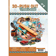 Bok med 3D-Push out - A man´s World