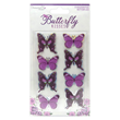 Toppers - Butterfly Kisses - Butterflies - 8st