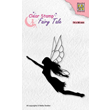 Clearstamps - Silhouette Fairy Tale - Flying Elf Nr 35