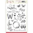 Clearstamp - Jeanines art - Butterfly Touch
