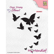 Clearstamps - Silhouette Pets - Butterflies