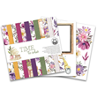 Scrapbookingpapper - 15x15 cm - Time to Relax