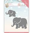 Yvonne Creations Die -  Welcome Baby - Little Elephants