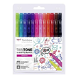 Tombow - Twintone Dual-tip Markers - Brights
