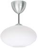 Bullo plafond lång (aluminium med opalglas)