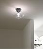 Bullo plafond (grå med klarglas)