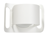 Gekko vägg uteb. vit str. B195 H145 52W E27