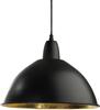 Classic taklampa stor (svart)