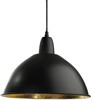 Classic taklampa (svart)