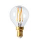 Klot LED E14 klar Elect 210lm 2300K dimbar