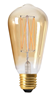 Edison LED E27 guld Elect 130lm 2100K dimbar