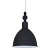 Bazar fönsterlampa (svart)
