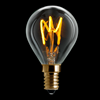 Klot LED 150lm E14 klar 2200K dimbar