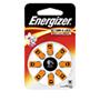 BATTERI ZINK AIR 13 HÖRAPPARAT 1.4V 8P ENERGIZER