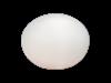 GLOBUS bordslampa vit mellan