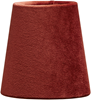 Queen lampskärm sammet rost 10cm