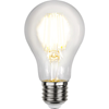 Normal LED 12V-24V E27 klar 470lm 2700K