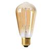 Edison LED E27 3-steg guld 220-55lm 2000K