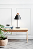 Strap bordslampa (svart)