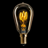Edison LED E14 guld 150lm 2000K dimbar