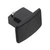 Global GB41-2 230V ändavslut 1-fs skena svart