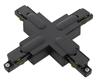 Global GB38-2 X-koppling 1-fas skena svart