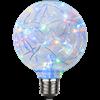 Glob LED färgad ljusslinga E27