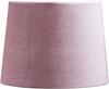 Lampskärm Sofia Sammet rosa