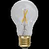 Normal LED klar 30Lm 2100K