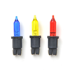 Reservlampa pisello färgade LED 2V 0,04W/3V 0,06W 3-fp