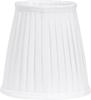 Cia Toppringskärm Plissé white 20cm