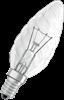 Kron 11W glödljus klar vriden E14 50Lm
