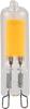 G9 LED klar 420lm 3000K dimbar