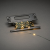 Slinga 100 amber micro LED grön kabel m.sladdvinda 3V/IP44