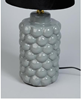 Bordslampa bubble grå