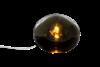 GLOBUS bordlampa 18cm, rök