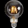 Glob LED E27 rök 95mm 80lm 2100K