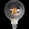 Glob LED E27 rök 125mm 80lm 2100K
