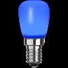 Päron LED E14 blå