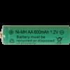 Batteri AA laddbart 600mAh
