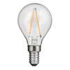 Klot LED E14 klar 80lm 2700K