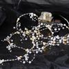 Ljusslinga Dew drop vita pärlor