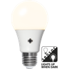 Sensor LED 470lm E27 opal 2700k